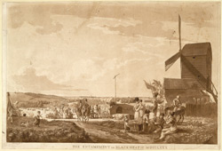 The Encampment on Blackheath 1780 MDCCLXXX